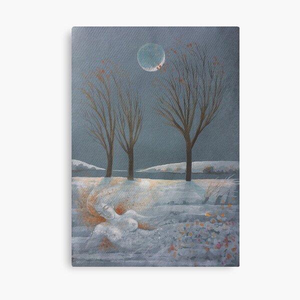 Memory - Autumn's Last Leaves Canvas Print