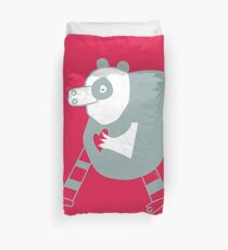 save the panda save the world! Duvet Cover