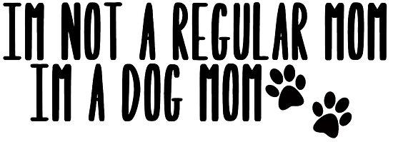 «Perro mamá» de Caro Owens  Designs