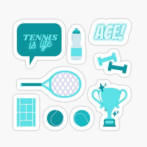 Tennis is Life Sticker Pack Blue Sticker