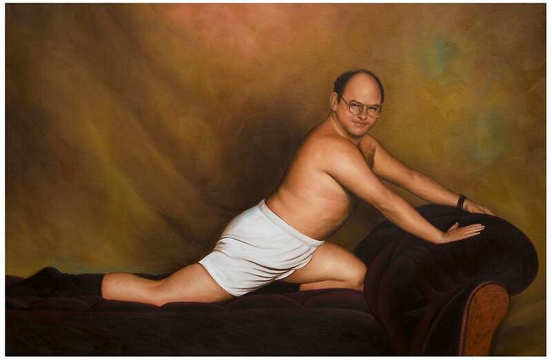 u0026quot;Seinfeld George Costanza Timeless Art of Seduction paintingu0026quot; Laptop Skins by artkeepsake ...