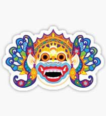 Balinese Mask Design Sticker