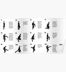 Monty Python | Silly walks | Cult tv Best of British  Poster