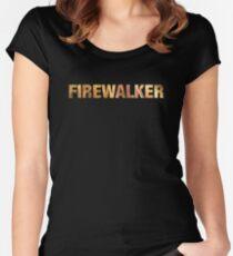 Tony Robbins UPW Firewalker  Women's Fitted Scoop T-Shirt