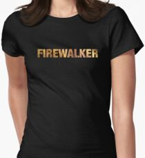 Tony Robbins UPW Firewalker  Women's Fitted T-Shirt