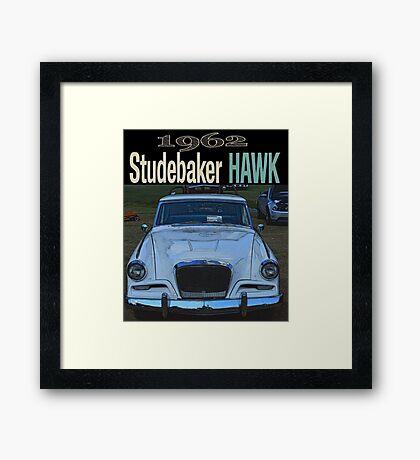 1963 Studebaker Hawk Framed Print