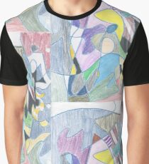 Abstract Color Doodle #30 Graphic T-Shirt
