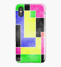 Colour Pieces iPhone Case/Skin