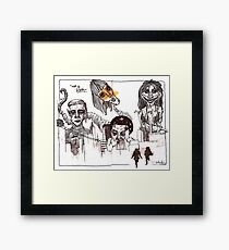 giants Framed Print