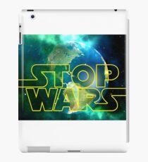 Stop Wars iPad Case/Skin