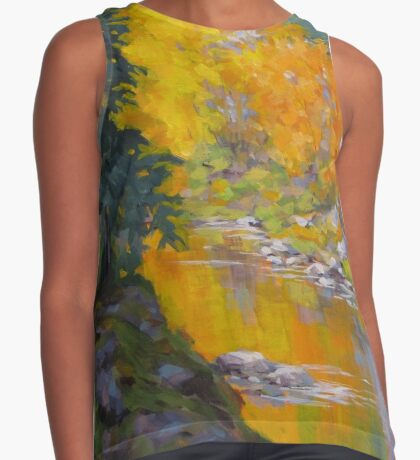 Fall Color Contrast Tank