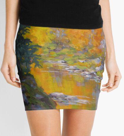 Fall Color Mini Skirt