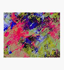 Colour Abstract #13 Photographic Print