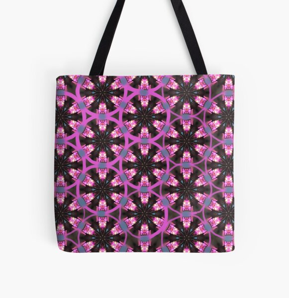 Winter Community Back To Social Interconnected Pattern All Over Print Tote Bag