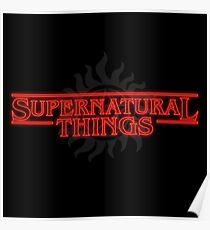 Supernatural Things Poster