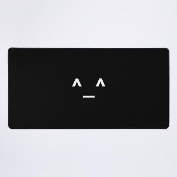 Joyful Face Emoji Desk Mat