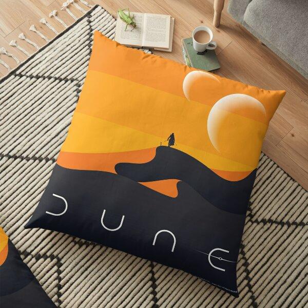Dune 2020, Arrakis Poster Floor Pillow