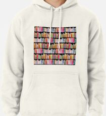 Bookworms Delight / Antique Book Library for Bibliophile Pullover Hoodie