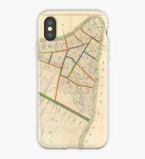 Vinilo o funda para iPhone Vintage Map of New York City (1831)