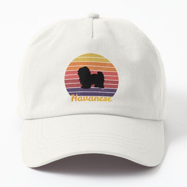 havanese retro vintage  Dad Hat