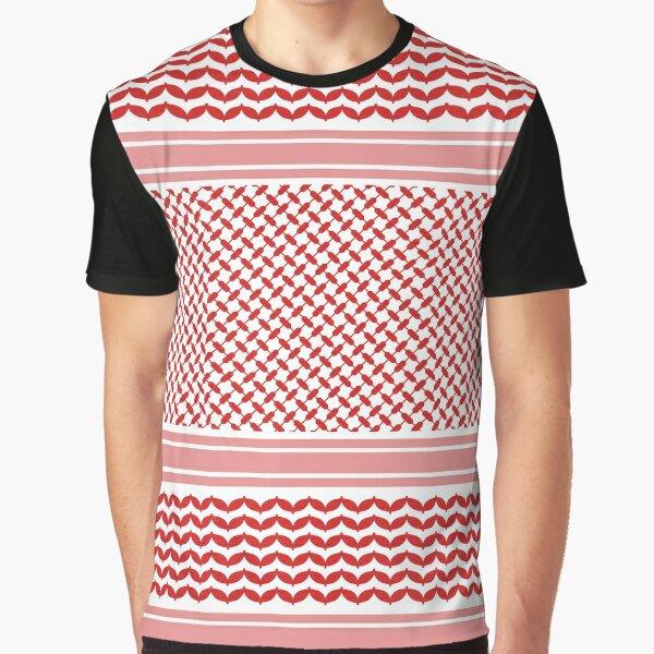 Jordanian Shemagh Design Graphic T-Shirt