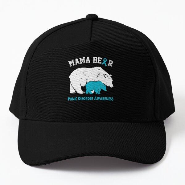PANIC DISORDER Awareness Bear Lover Gifts Baseball Cap