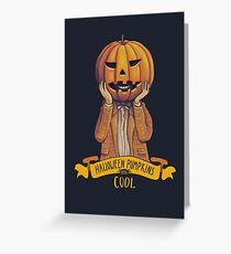 Doctor Who Halloween Greeting Card