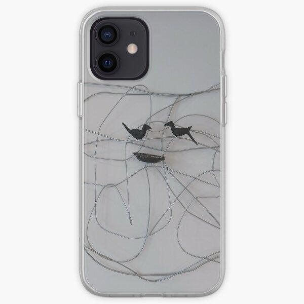 Line Art  iPhone Soft Case