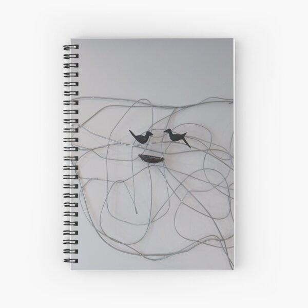 Line Art  Spiral Notebook