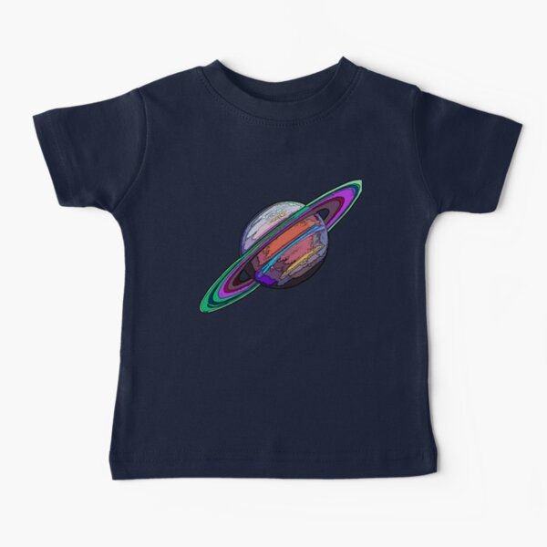 Saturn:  The Ringed Planet Baby T-Shirt