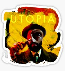 Rounding Utopia Sticker