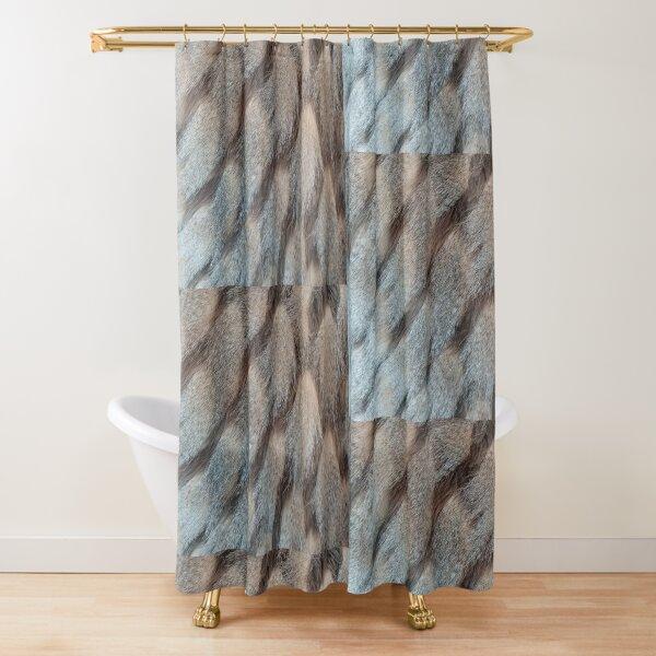 Hide Art  Shower Curtain