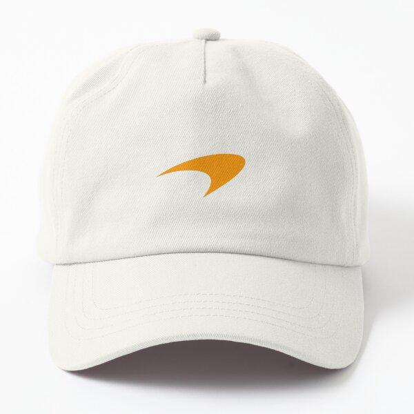 McLaren Papaya on Black Dad Hat