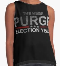THE MEME PURGE - ELECTION YEAR Contrast Tank