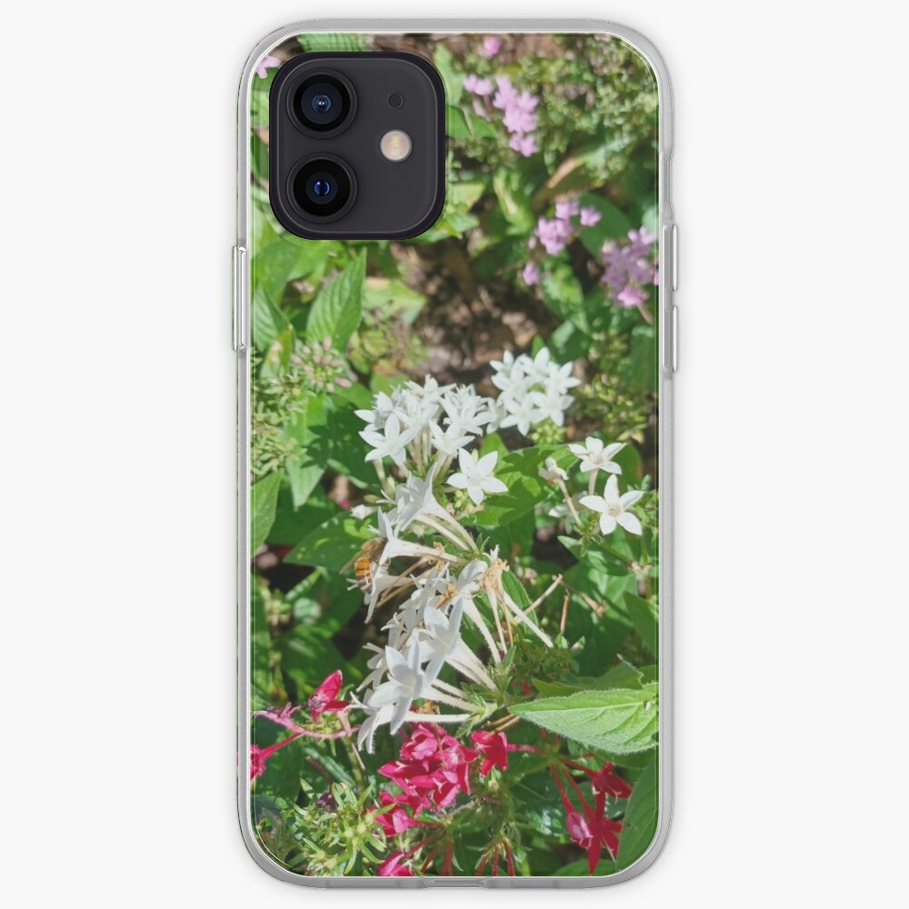 Butterfly Bush Plant Art  iPhone Case