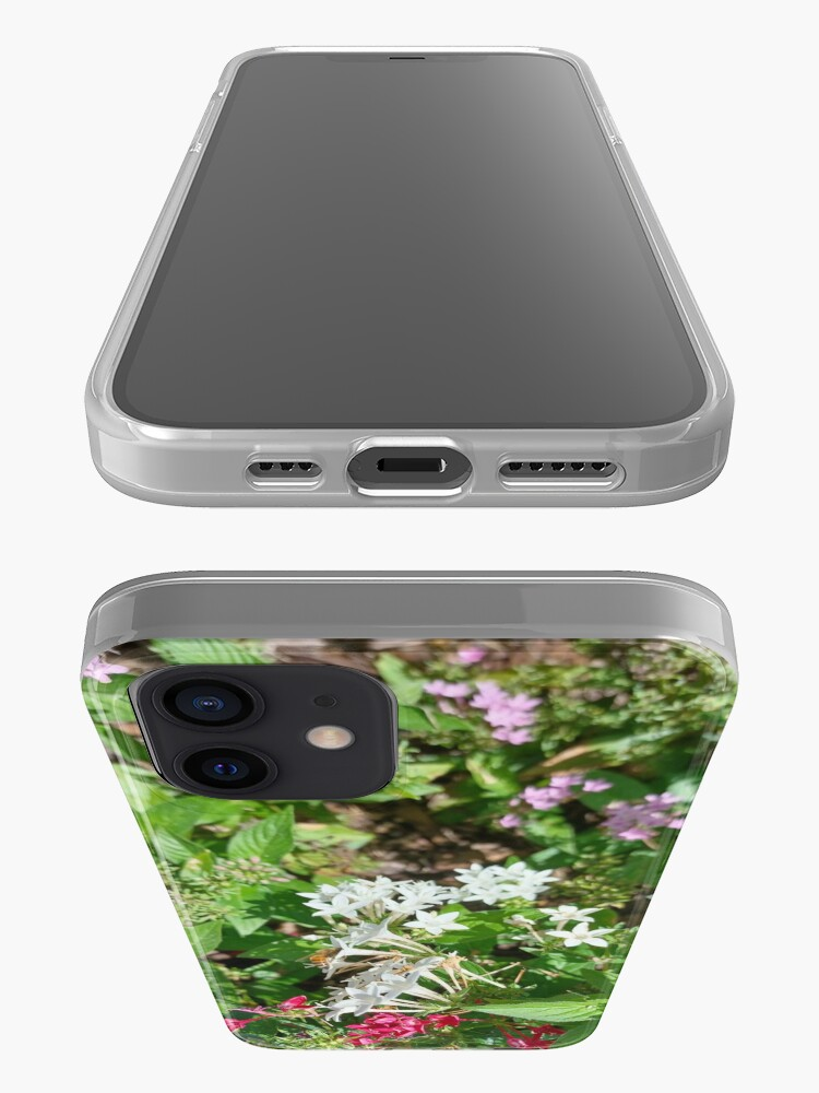 Alternate view of Butterfly Bush Plant Art  iPhone Case