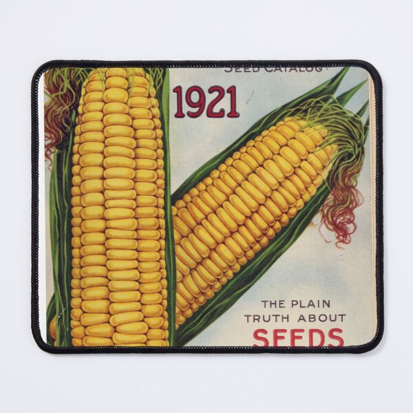 Vintage Burpee's Seed Annual Catalog Cover (1921) Mouse Pad