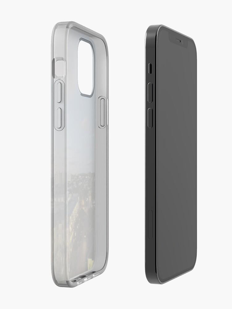 Alternate view of Horizon Art iPhone Case