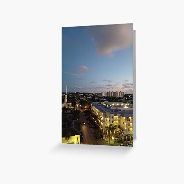 Horizon Art Greeting Card