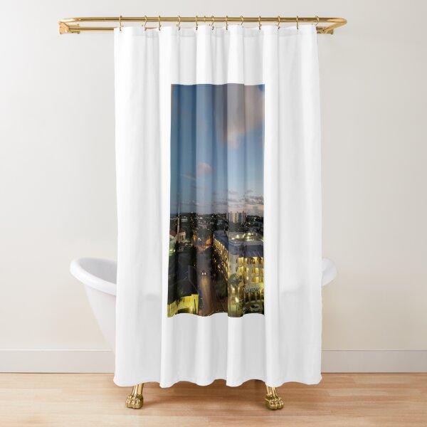 Horizon Art Shower Curtain