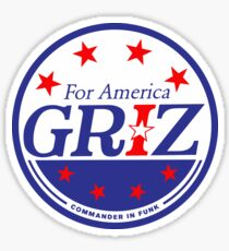Griz - FOR AMERICA Sticker