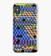 Q Cubes iPhone Case