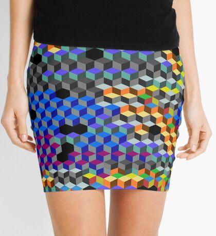 Q Cubes Mini Skirt