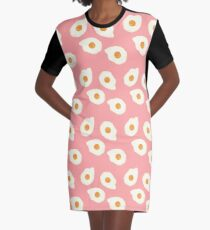 Egg Pattern II Graphic T-Shirt Dress