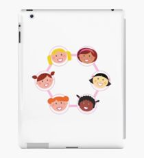 Girls circle : Woman IT Crowd fashion illustration by Guothova iPad Case/Skin