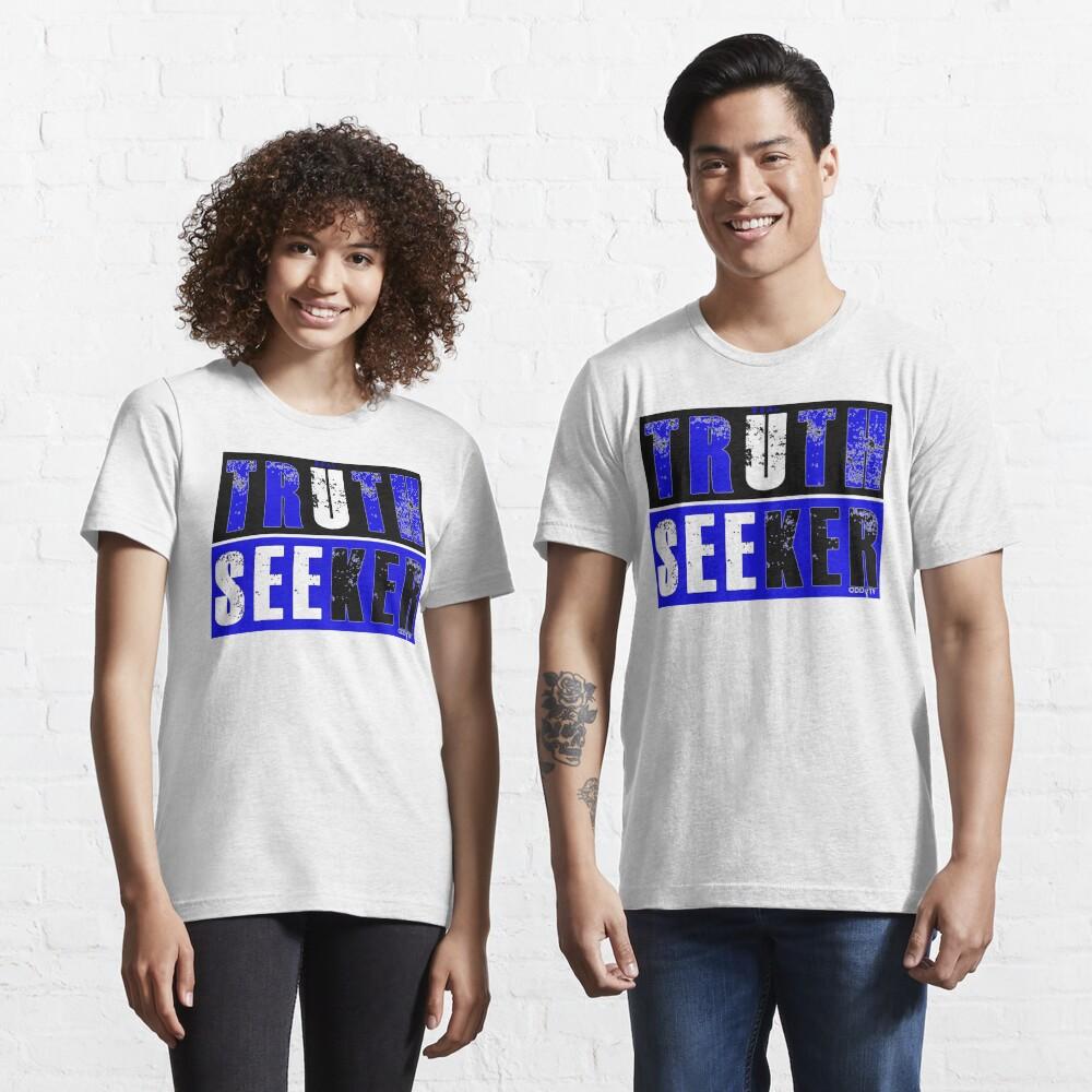 Real Truth-Seeker (Blue) Essential T-Shirt