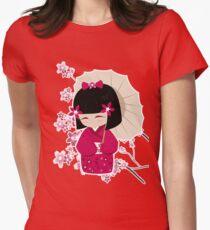 Sakura Kokeshi Doll T-Shirt