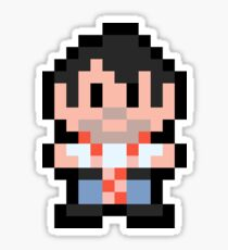 Pixel John Sticker