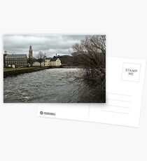 Slater Mill in Winter Postcards