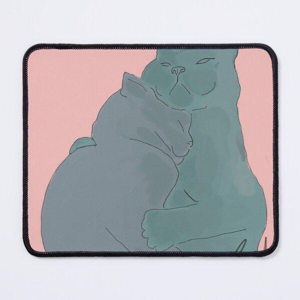 Rainbow Hugs Mouse Pad